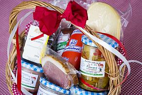 Körners Hofladen-Fotos - Geschenkkorb